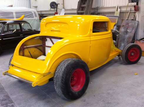 yellow-hotrod